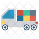 Delivery Boxes Truck Icon