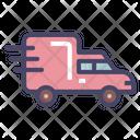 Cargo Truck Van Icon