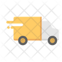 Delivery Truck Emergency Delivery Truck Fast Delivery Truck Icon