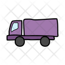 Delivery Truck Van Automobile Icon