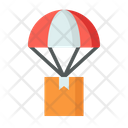 Delivery Truck Delivery Parachute Air Delivery Icon