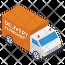 Delivery Van Parcel Delivery Cargo Icon