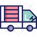 Delivery Truck Delivery Van Parcel Truck Icon