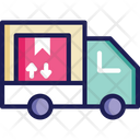Delivery Truck Delivery Van Courier Van Icon