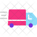 Delivery Truck Delivery Van Courier Truck Icon