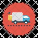 Delivery Truck Carton Icon