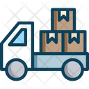 Truckboxm Delivery Truck Treveller Icon