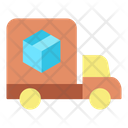 Logistics Delivery Truck Delivery Vehicle Icon