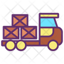 Package Delivery Delivery Truck Icon