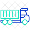 Logistics Transportation Delivery Truck Delivery Vehicle Icon