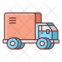 Delivery Delivery Truck Parccel Truck Icon