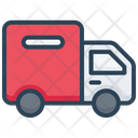 E Commerce Truck Shipping Icon