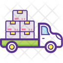 Delivery Truck Shipping Icon