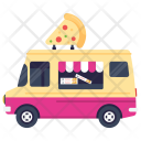 Pizza Slice Fast Icon