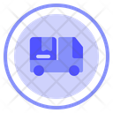 Truck Deliver Transportation Icon