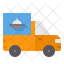 Delivery Truck Food Food Truck Transport Icon