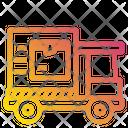 Logistics Package Box Transport Icon