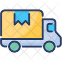 Delivery Truck Transit Cargo Icon