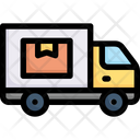 Delivery Truck Delivery Vehicle Shipping Icon