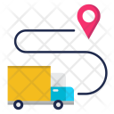 Delivery Location Transport Icon