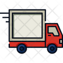 Delivery Truck Loading Shipping Icon