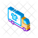 Laundry Delivery Cleaning Icon