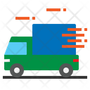 Delivery Truck Fast Icon