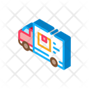 Delivery Truck Courier Icon