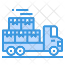 Container Delivery Truck Icon