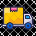 Truck Cargo Service Icon