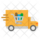 Delivery Truck Food Icon