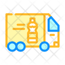Delivering Oil Truck Icon