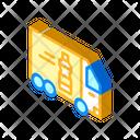 Delivering Oil Truck Icon