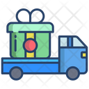 Kartboard Corrier Truck Delivery Truck Icon