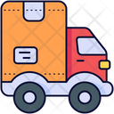 Delivery Truck Mover Truck Vehicle Icon