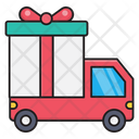 Gift Delivery Christmas Icon