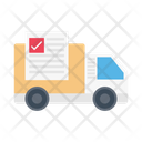 Delivery Truck Logistics Icon