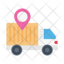 Location Delivery Fast Icon