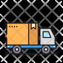 Delivery Box Logistic Icon