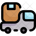 Delivery Truck Shipping And Delivery Cargo Truck Icon