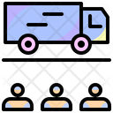 Delivery Truck Cargo Delivery Icon