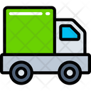 Delivery Truck Parcel Logistics Icon