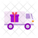 Truck Delivery Parcel Icon