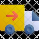 Truck Delivery Send Icon