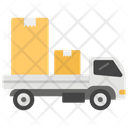Fast Delivery Moving Truck Logistic Delivery Icon