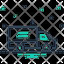 Truck Deliver Automobile Icon