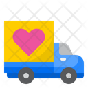 Delivery Truck Love Truck Icon