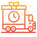Delivery Truck Truck Gift Box Icon