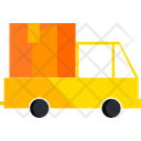 Delivery Truck Transportation Box Icon