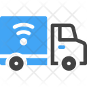 Delivery Truck Wireless Icon